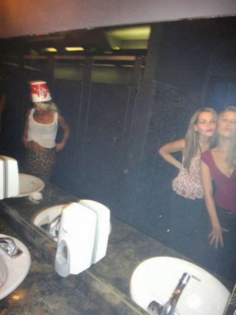 Mujere baños publicos 1256