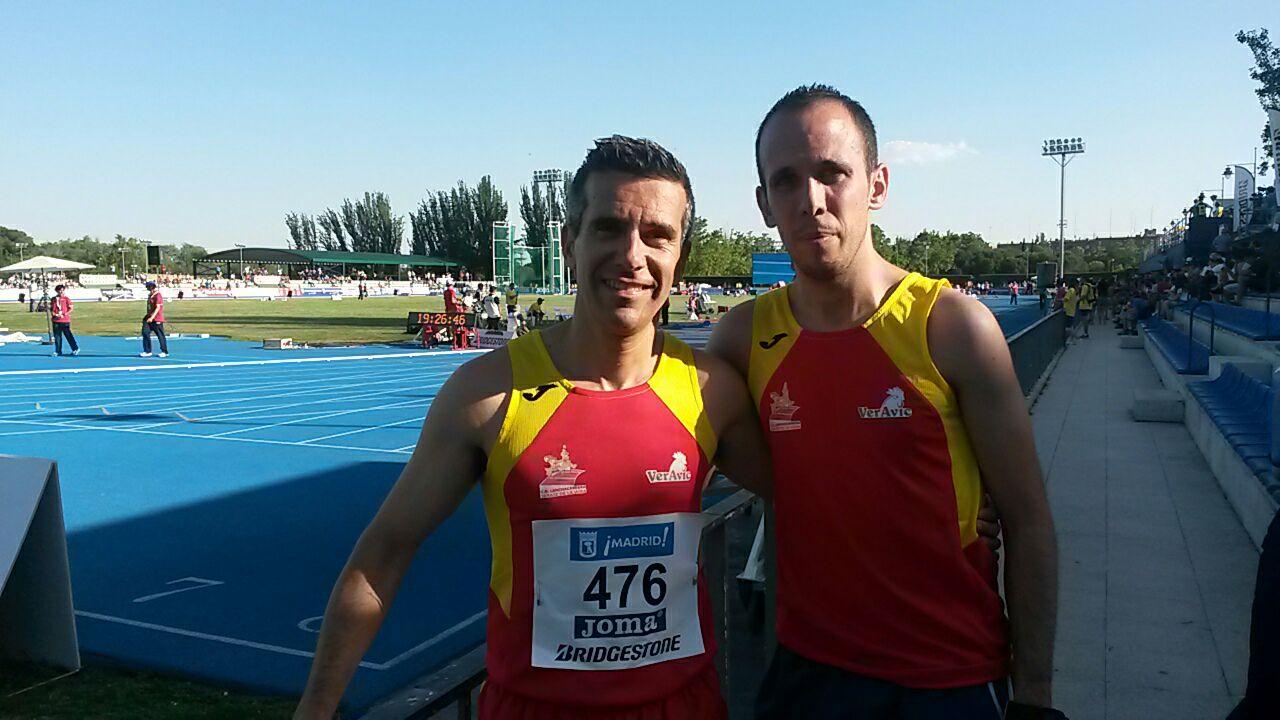 Ambos deportistas federados 7890