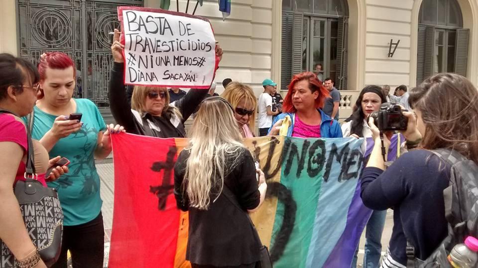 Trans diana sin en San Justo 994