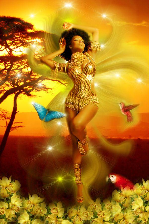 Además de ser una diosa del amor 4018