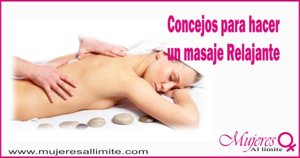 Hacer masajes relajantes 3713