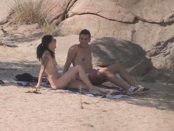Playa nudista en San Juan sexo 9254