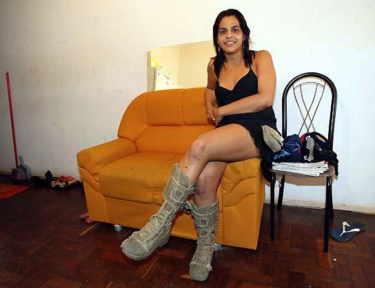 Travesti bruna en Martínez 9312